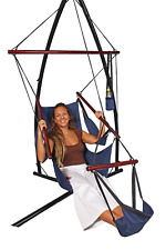 Canvas Hanging Chair with Foot Rest + FREE SHIPPING