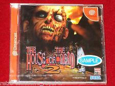 *New & Sealed Full Game Promo* Sega Dreamcast HOUSE OF THE DEAD 2 NTSC-J Japan