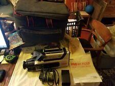 Vintage RCA CC310 Pro Wonder Video Camcorder Pro Edit Solid State w/ Manual