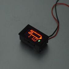 Volmeter LED Color Digital Display Voltage Meter Panel Gauge with Wires YB27VE