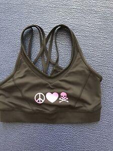 Lululemon Soul Cycle size 6 women's workout top VGUC