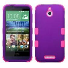 Fundas y carcasas color principal rosa de silicona/goma para teléfonos móviles y PDAs HTC