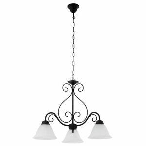 Hanging Light Matte Black Ø60cm Incl. 6W LED Rustic Lamp Cover Hanging Lamp New