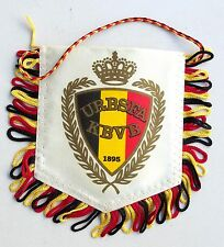 Vintage KBVB URBSFA KBFV Flag Belgium Royal Football Soccer