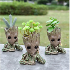 Flower Pot Baby Groot Flowerpot Planter Action Figures Gardening Model Toy funny