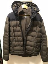 Men's Spiewak Hooded Winter Coat . Size XL. Navy And Olive.