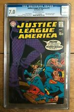 Justice League Of America #75 1969 1st Black Carnary CGC 7.0 1211380008