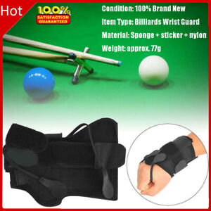 Pro Billiards Pool Correcting Practicing Gloves Wrist Guard Training Accessory❤F