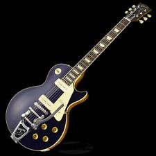 New Gibson Custom 1956 Les Paul Model w/Bigsby Gloss Candy Blue Natural Back