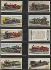 More details for full set, wills, railway locomotives 1930