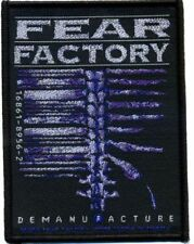 "Fear Factory "" Demanufacture "" Patch/Aufnäher 602459 #"