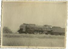 PHOTO ANCIENNE - VINTAGE SNAPSHOT - TRAIN 231 G LOCOMOTIVE RIOM 1948  3