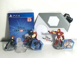 Disney Infinity 2.0 PS4 Starter Pack Marvel Super Heroes Avengers