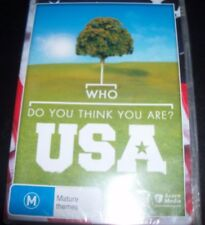 Who Do You Think You Are USA  Series Season 1 (Australia PAL All Region) DVD NEW