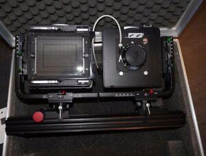 "Linhof 9x12 Fachkamera Set ""Sondermodell"" Technikardan / Kardan Standard"