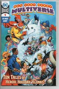 DC's Very Merry Multiverse 80-Page Giant!! DC Comics 2020 1st Kid Quick