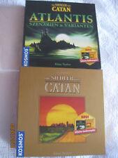 10 Jahre Siedler von Catan von Kosmos Goldene Jubiläumsausgabe + Atlantis
