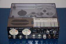 UHER 4400 Report Monitor Tonbandgerät + Pötter Perfomat MC4AV Ifrarot-Perfoleser