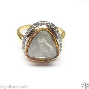 14K Beautiful Stunning Polki Diamond Ring