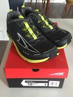 Altra Torin 4 Men's Road Running Shoes Gray/Lime  Size 10