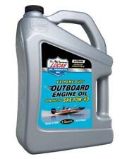 LUCAS OIL Fully Synthetic SAE 10W40 Outboard Engine Oil FC-W - 4.54 Litre 10813A
