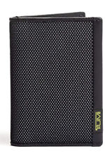 TUMI ALPHA SLG Multi Window Card Case Reflective Brt Lime Green 0119274RBL NEW