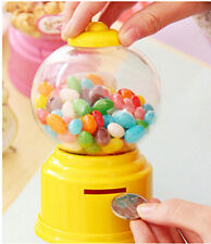 Gumball Saving Coin Box Kids Cute Mini Candy Vending Machines Bubble Baby Gift