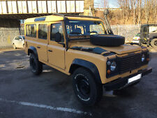 DEFENDER 110 200TDi COUNTY LHD EXPORT USA CAMEL TROPHY SUPPORT VEHICLE IN USA CT
