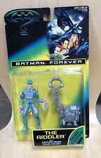 Batman Forever KennerAction Toy NIB. The riddler with Capture Brain Drain Helmet