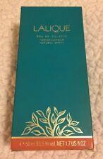 Lalique (Classic Edition) 1.7oz EDT Spray New In Box Women's RARE