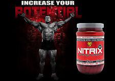 BSN NITRIX 2.0 Nitric Oxide Precursor  Advanced Strength Formula 180 Capsules