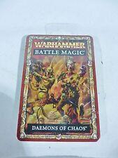 ML Warhammer Démons Du Chaos Battle Magic Cards Entièrement neuf dans sa boîte