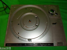 Hitachi Direct Drive HT-2 Turntable Motor Assembly Chassis and Tonearm Rest