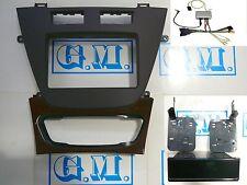 Mascherina kit 1 DIN Doppio DIN 2 DIN MARRONE Opel INSIGNIA con comandi volante