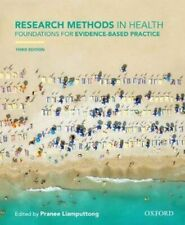 NEW Research Methods in Health 3ed By Pranee Liamputtong Paperback Free Shipping