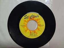 """SWAMP RATS:Psycho-Here There & Everywhere-U.S. 7"""" 67 St. Clair Production Orig."""