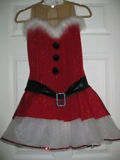 BEAUTIFUL  COMPETITION ICE SKATING/ ICE DANCING DRESS SIZE ADULT L