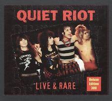 Live & Rare, Vol. 1 by Quiet Riot (CD, Jan-2005, Cleopatra)Bang your Head