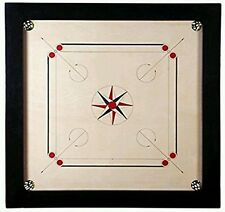 "Carrom Board Game Large Striker Coins Set Quality Tournament  Size New 36"" x 36"""