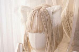 Cute Lolita Cat Ears Headwear For Women Cosply Sexy Soft Plush Animal Fox Ears