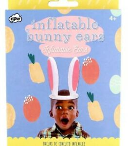 Inflatable Bunny Ears Easter Kids Hat