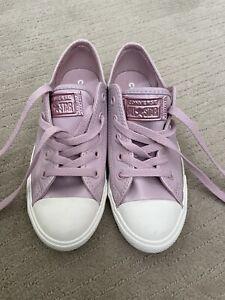 Converse Girls Shoes. UK 4. Brand New