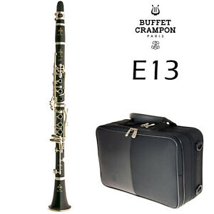 Buffet Crampon E13 Bb Clarinet in Gigbag | BC1102-2-0GB