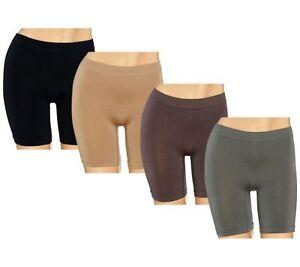 BREEZIES Seamless LONG LEG  Panties A262701 - 1X OR 2X