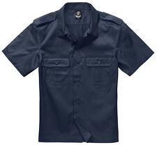 Brandit Safarihemd US Hemd Herrenhemd Kurzarm Arbeitshemd Freizeithemd Armyhemd