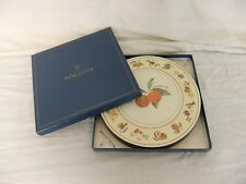 c4 Royal Worcester Evesham pottery matching items - placemats & coasters 3D3A