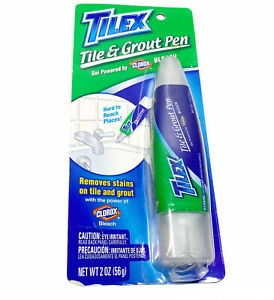 NEW -Tilex Tile Grout Pen - Removes Stains Bathroom Cleaner- DISCONTINUED