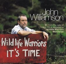 JOHN WILLIAMSON Wildlife Warriors It's Time CD - Steve Irwin