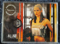 JENNIFER GARNER ALIAS SEASON 1 COSTUME CARD PW2 SILVER DRESS INCENTIVE VARIANT!
