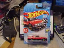 Hot Wheels Factory Fresh '82 Nissan Skyline R30 Red 2018 Factory Seal Sticker